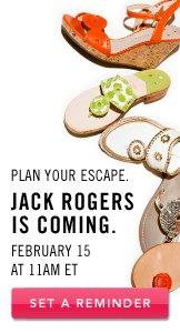 Jack Rogers. Set A Reminder.