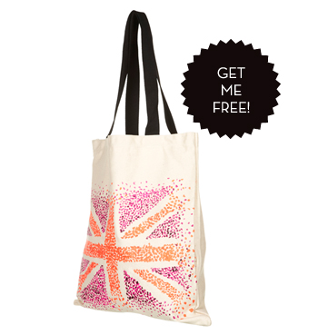Free Union Jack Shopper Bag