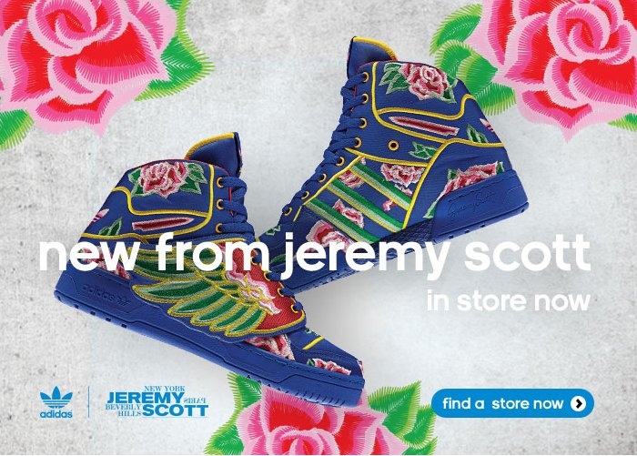 new from jeremy scott in store now