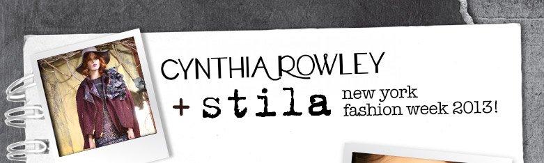 cynthia rowley + stila