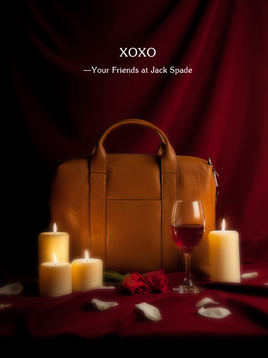 xoxo- your friends at jack spade