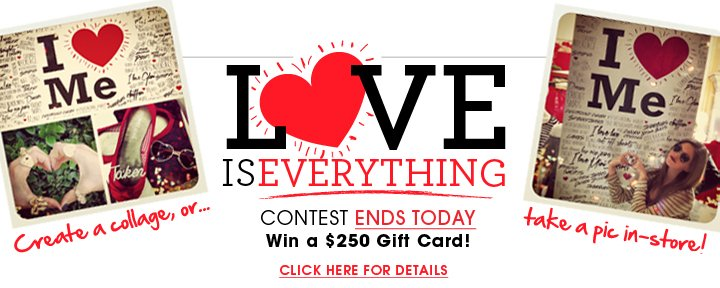 Love Is Everything Contest - Ends Today