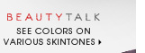 see colors on various skintones