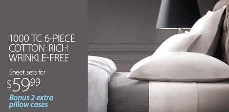 Wrinkle-Free Bedding