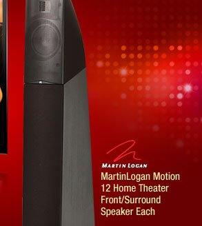 MartinLogan Motion 12 Home Theater Front/Surround Speaker Each