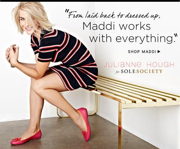Julianne Hough for Sole Society_Maddi