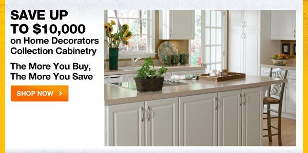 SAVE UP TO $10,000 HOME DECORATORS COLLECTION