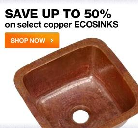 SAVE UP TO 50% SELECT COPPER ECOSINKS