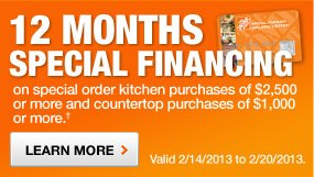 12 MONTHS SPECIAL FINANCING