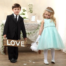 Tulle to Tuxes: Kids' Wedding Apparel