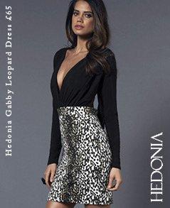 Hedonia Gabby Leopard Dress