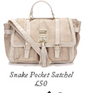 Snake Pocket Satchel