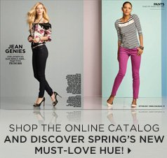 Shop the online catalog  and discover Spring's new must-love hue