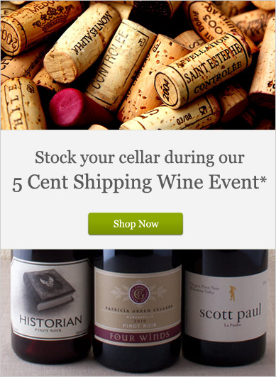 5 Cent Shipping Wine Event - Shop Now