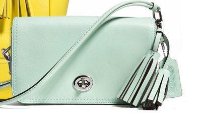 penny shoulder purse