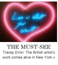 THE MUST-SEE Tracey Emin: The British artist's work comes alive in New York