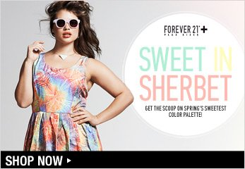 Forever 21 Plus: Sweet Sherbet - Shop Now