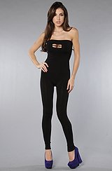The Bounce Jumpsuit in Black