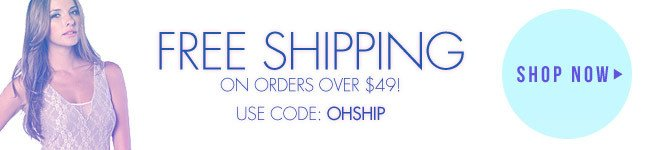 Free Shipping on orders over $49! Shop Miss KL!