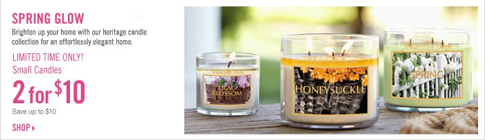 2 for $10 Small Candles