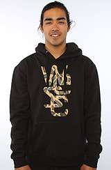 The Overlay Hoody in Black and Leopard