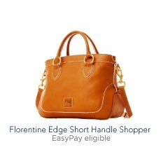 Florentine Edge Short Handle Shopper