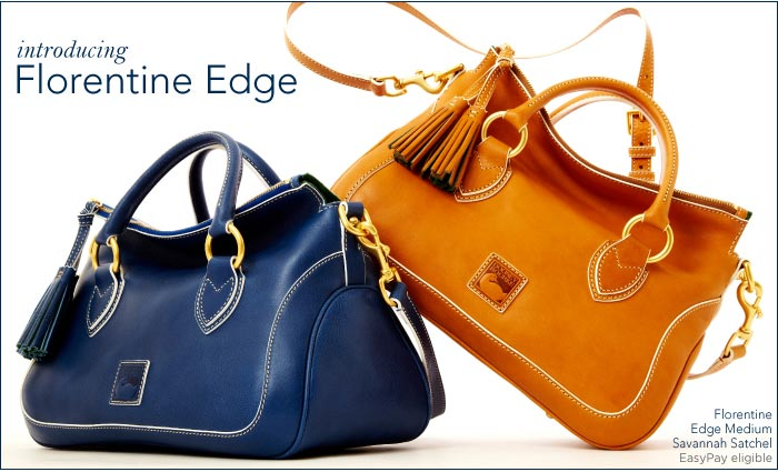 Introducing Florentine Edge now on dooney.com