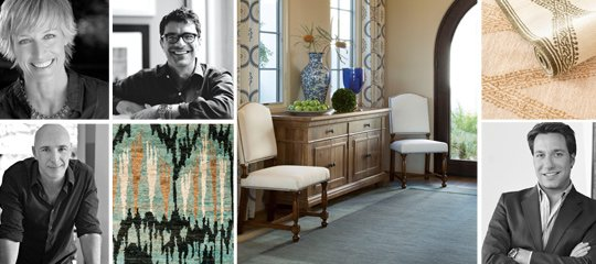 Roll Out the Carpet: Rugs by 8 Designers