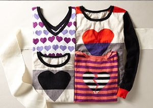For the Love of Hearts: Patterned Sweaters