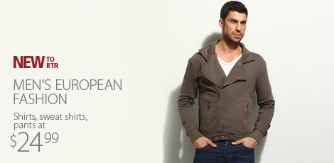 Mens European fashion