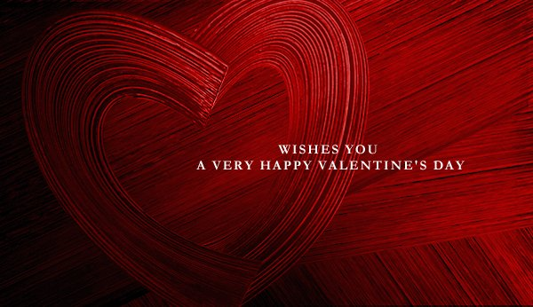 WISHES YOU A VERY HAPPY VALENTINE'S DAY