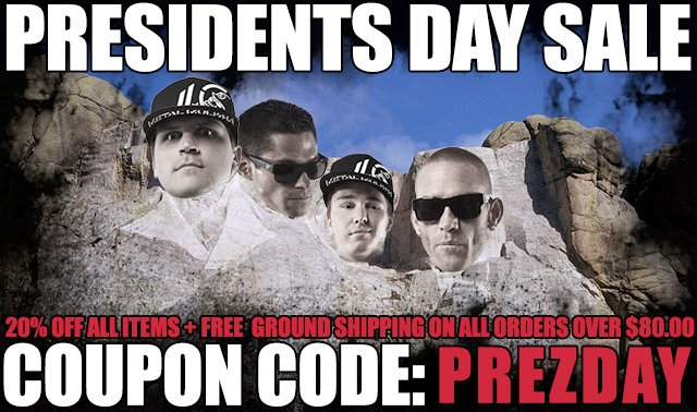 Metal Mulisha Presidents Day Sale
