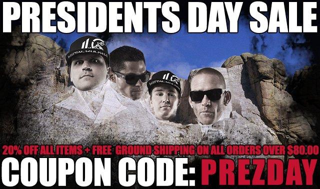 Metal Mulisha Presidents Day Sale