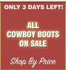all cowboy boots sale