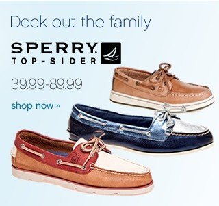 Sperry Top-Sider. Shop now.