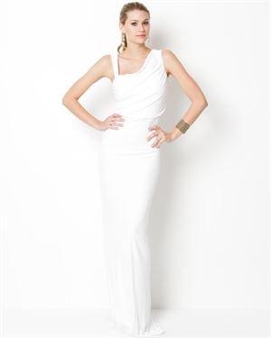 ABS By Allen Schwartz Asymmetrical Gown