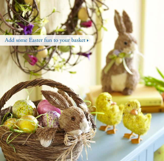 Add some Easter fun to your basket