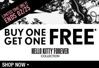 Hello Kitty BOGO - Shop Now