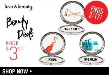 Beauty Deals Ends 2/17! - Shop Now