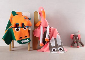 Covetable Cottons: Blankets & Animals by Cate & Levi