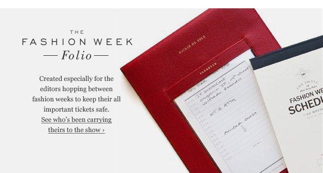 The Fashion Week Folio