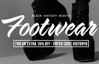 Black History Month: Footwear