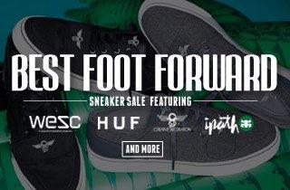 Best Foot Forward: Sneaker Sale