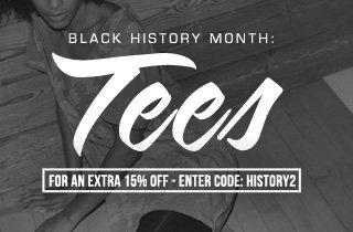 Black History Month: Tees