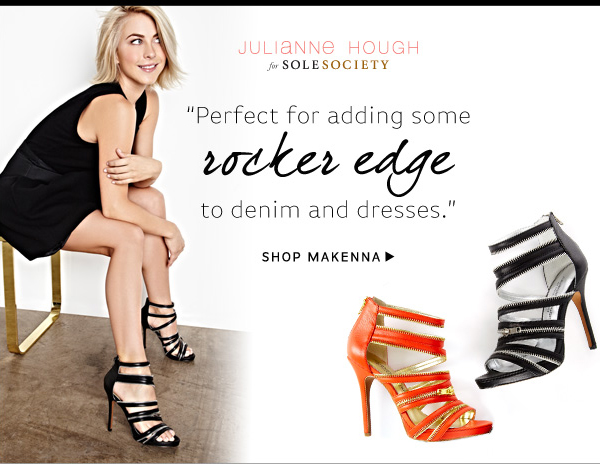 Julianne Hough for Sole Society_Makenna