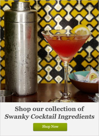 Swanky Cocktail Ingredients - Shop Now