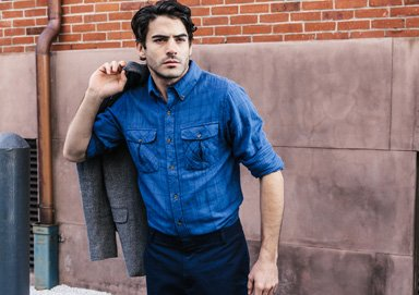 Shop Classic Pairings: Denim & Wovens