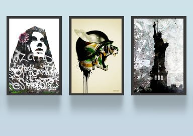 Shop For Your Walls: Framed Fine Art