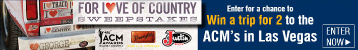 Justin Love Country Sweepstakes