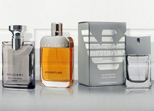 Men's Fragrances: Burberry, YSL, Armani